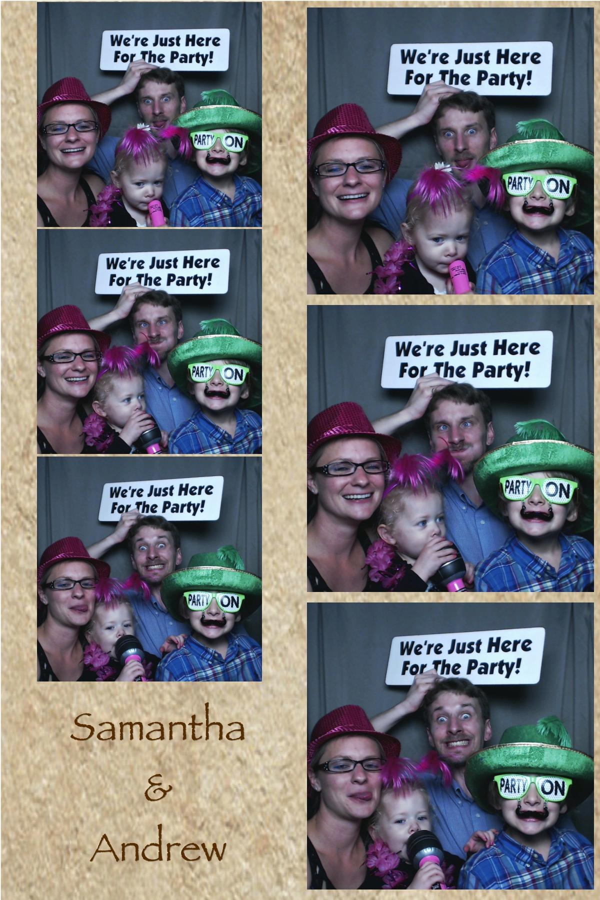 Samantha and Andrew May 10 2014