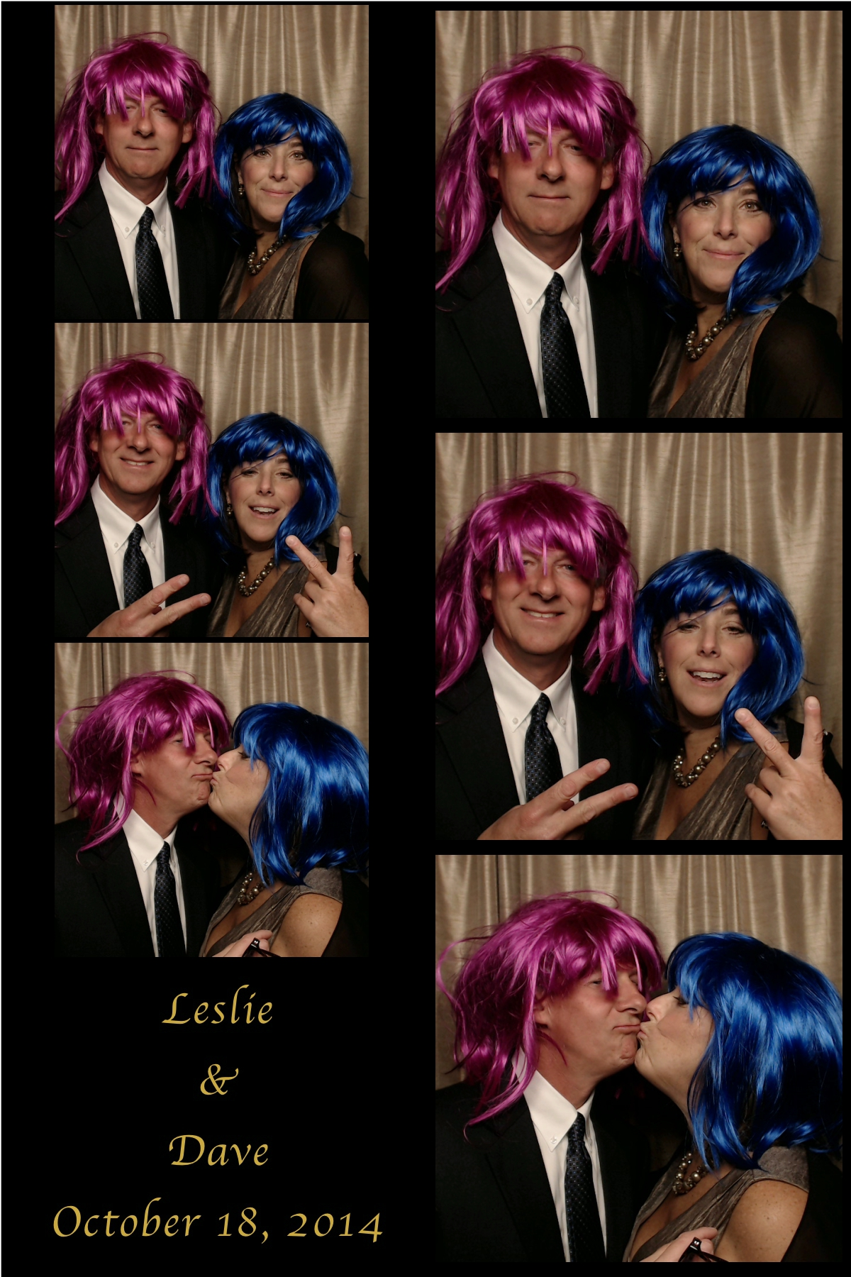 Leslie and Dave Oct 18 2014